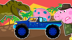 monster truck video download free pig monster truck dino egg monster trucks crashes episode
