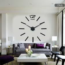 Decorative Wall Clocks For Living Room Best 20 Huge Wall Clock Ideas On Pinterest Huge Clock Clock