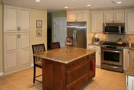 kitchen island different color than cabinets kitchen island cabinets and islands granite refinishing pictures