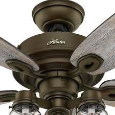 hunter mason jar ceiling fan hunter rustic primitive ceiling fans ebay