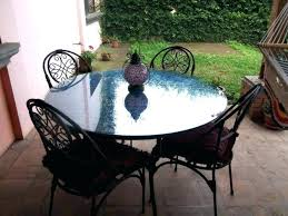Patio Table Top Replacement Glass Patio Table With Umbrella Patio Table Cover