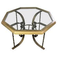 wrought iron dining table glass top hollywood regency wrought iron dining table octagon gilded wood