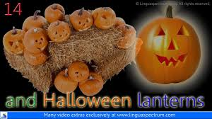 british english vocabulary of halloween learn english youtube