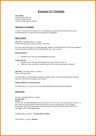 Resume Reimage Repair Personal Resume Template Resume For Your Job Application
