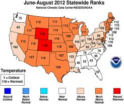 National Temperature Map 2012 Midwest Drought In The United States Journal Of Hydrologic