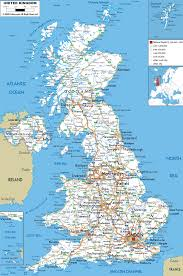 Map Of Spain With Cities by Maps Of The United Kingdom Detailed Map Of Great Britain In