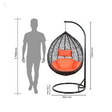 shri sai outdoor furniture single seater swing amazon in electronics