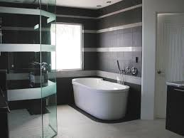 bathroom tiles black and white ideas handsome black and white bathroom tile designs 17 for your home