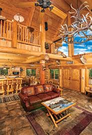 interior pictures of log homes finishing touches interior log walls