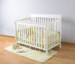 Baby Cribs 4 In 1 Convertible Bedroom Concord Baby Cribs Carson 4 In 1 White Convertible Crib
