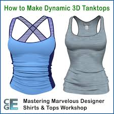 designer tank tops md103 marvelous designer sleeveless shirts workshop tanktops