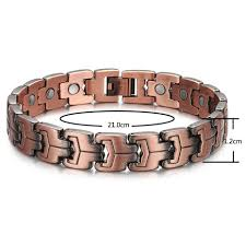 blood health bracelet images Welmag magnetic health bracelets improve blood circulation copper jpg