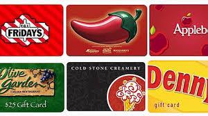 restaurant gift card 2015 restaurant gift card deals