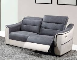 canap relaxation 3 places canap blanc gris great meublesline canap duangle places neto design