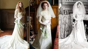bride wars wedding dress bride wears four generations of wedding dresses for special photo