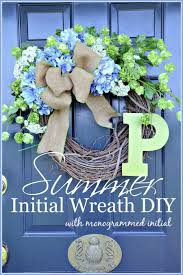 hydrangea wreath summer hydrangea wreath diy stonegable