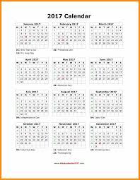 14 printable year calendar 2017 abstract sle