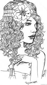taylor swift coloring pages to print coloring4free coloring4free com
