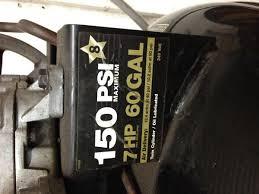 air compressor motor works fine on 120v but not 240v like it was