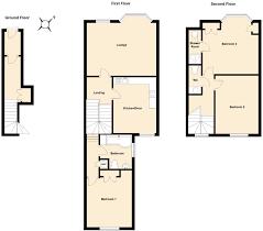 Maisonette Floor Plan 3 Bedroom Maisonette For Sale In Clodgy View St Ives Tr26