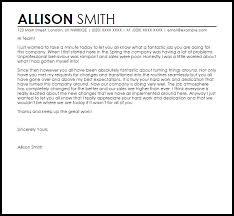 appreciation letter to team for good work livecareer