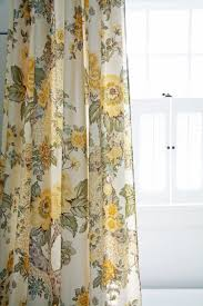 Retro Floral Curtains Cool Vintage Floral Shower Curtains Inspiration With Bold Shower