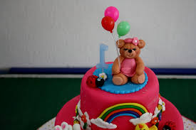 birthday cake for 1 year old baby decorating of party