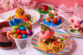 cuisine kawaii kawaii cafe in harajuku launches menu of