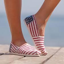 Flag Toms Espadryle Toms Canvas Flag Womens Alpargata 992 W Sklepie Eastend Pl