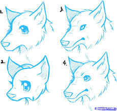 wolf drawing cartoon cartoon animal howling wolf coloring pages 00