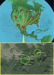 Migration Map Mexico Michoacan Monarch Migration Route U2014 Land Life Magazine