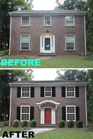 exterior redo ideas for flips pinterest federal curb appeal