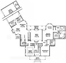 5 Bedroom House Plan by 63 Best House Plans Images On Pinterest Home Plans House Floor