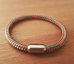 bracelet magnetic stainless steel images Premium sailing rope bracelet magnetic stainless steel clasp etsy jpg