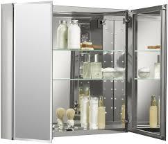 Two Door Medicine Cabinet K Cb Clc3026fs Kohler 30 X 26 Aluminum Two Door Medicine Cabinet