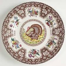 spode thanksgiving brown multicolor no trim at replacements ltd