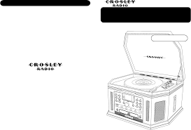 crosley radio stereo system cr248 user guide manualsonline com