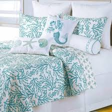 Seashell Queen Comforter Set Bedroom Wonderful Beach Themed Comforter Sets Nautical Quilt