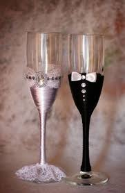 wedding glasses pin by magdalena on wedding diy wedding glasses