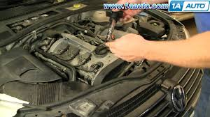 how to install replace engine ignition coil volkswagen passat 1 8t