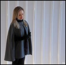 Fabuloso Capa - Casaco Feminino (Cape Coat) M no Elo7 | Stok Fabre Atelier  &UR27
