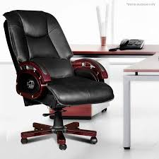 reclining leather office chair crazy sales