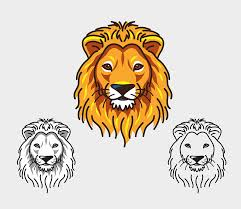 free vector graphic lion head face king jungle free image