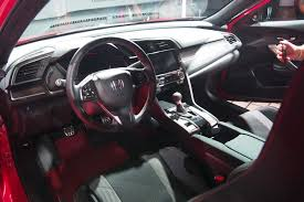 honda civic 2017 interior 2017 honda civic si debuts at 2016 l a auto show autoguide com news
