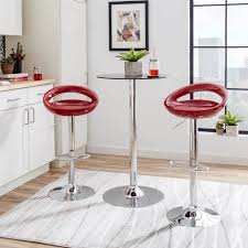 bar stool counter chairs red counter height bar stools backless