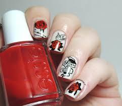 born to be wild nails biker nails rock nails tattoos nails