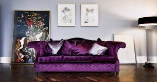 Living Room With Purple Sofa Furnish Your Room With A New Purple Sofa Blogbeen