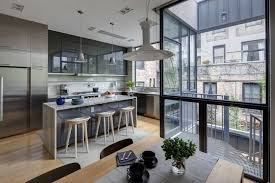 Ideas Townhouse Interior Design Interior Design Portfolio Of Smart Dg Kitchen Design With Bar