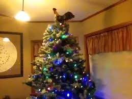rooster tree topper