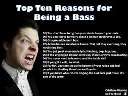 Top Ten Memes - top ten reasons for being a bass yankee gospel girl